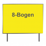 8 Bogen Plakatwand Neonpapier 1/0
