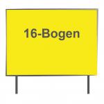 16 Bogen Plakatwand Neonpapier 1/0