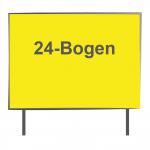 24 Bogen Plakatwand Neonpapier 1/0